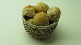 En bunke av Mini Bread arkivfoton