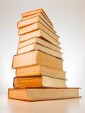 En bunt av gamla böcker Royaltyfri Foto