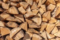 En bunt av trä royaltyfri fotografi