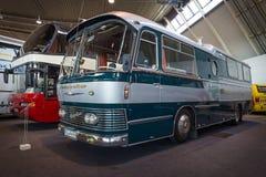 En buss med en boendeenhet NEOPLAN Sonderfahrzeug, 1965 Royaltyfri Fotografi