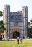 En byggnad i det princeton universitetet Royaltyfria Foton