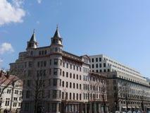 En byggnad i Washington DC Arkivbild