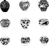 En céramique illustration de vecteur