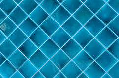 En céramique bleu photographie stock