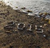 2015 en cailloux Image libre de droits
