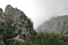 En Camarmeña, Cabrales, Espagne de Bobia de canal Photographie stock libre de droits