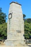 En cenotafium för krigminnesmärke i Hamilton, Nya Zeeland arkivbild