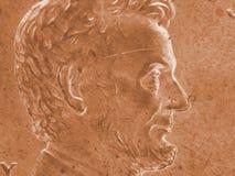 en cent från USA Arkivbilder