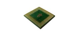 En centralenhetCPU är den elektroniska strömkretsen inom en dator som bär ut anvisningarna av en datorprog Arkivbilder