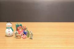 en Christian Nativity Scene av behandla som ett barn det Jesus diagramet royaltyfri bild