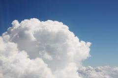En cielo, nubes Foto de archivo