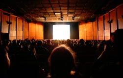 En cine Imagen de archivo libre de regalías