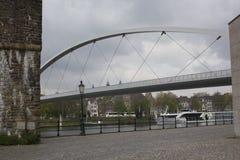 En cityscape av Maastricht arkivbild