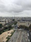 En cityscape av Paris arkivbilder