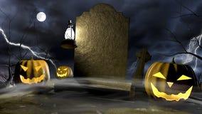 Halloween plats 2 Royaltyfria Foton