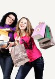 en compras Imagen de archivo libre de regalías