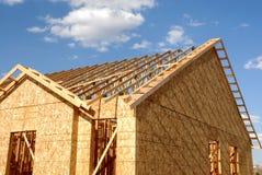 En construction à la maison Images libres de droits