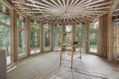 En construction à la maison de luxe Photo libre de droits