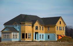 En construction à la maison de luxe Photos stock