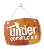 En construction Photos libres de droits