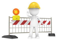 En construction illustration de vecteur