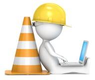En construction. Images stock