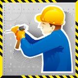 En construction. Photo stock
