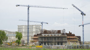 En construction Images libres de droits