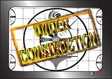 En construction Image libre de droits