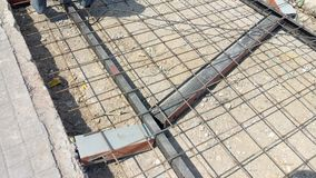 En construction Images stock