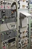 En Control Center för jättemissilmuseum panel royaltyfria bilder