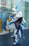 En cosplay oidentifierad japansk anime royaltyfri bild
