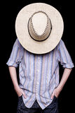 En cowboy Arkivbild