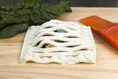 En Croute de saumons Images stock
