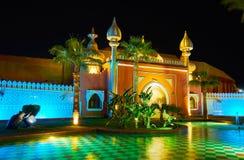 En cuento de hadas árabe, Sharm el Sheikh, Egipto Foto de archivo libre de regalías