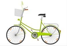 Cykel. stock illustrationer