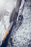 En cykelkugghjulask Arkivbild