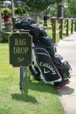 En dag av golf Arkivbilder