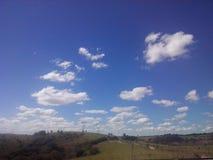 En dag av solen Arkivfoton