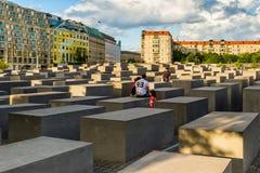 En dag i Berlin, Tyskland arkivfoton