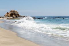 En dag i Laguna Beach, Kalifornien arkivfoto