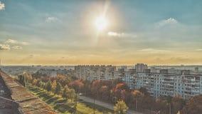 En dag i stad Arkivfoto