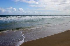 En dag på havet Arkivbilder
