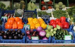 En dag på marknaden i Munich Fotografering för Bildbyråer