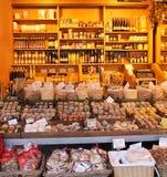 En dag på marknaden i Munich Arkivfoto