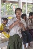 En danza Fotografía de archivo libre de regalías