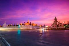 En dehors de Wat Phra Kaew, la Thaïlande Photos libres de droits