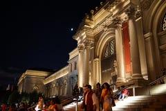 En dehors du Musée d'Art métropolitain 44 Photographie stock