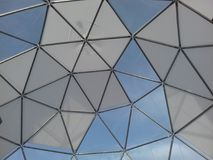 En del av den gigantiska boll-formade strukturen Arkivfoto