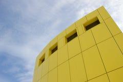 En del av modern affärsbyggnad Royaltyfria Foton
